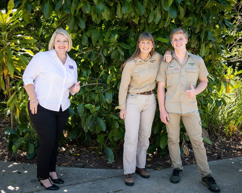 Australia Zoo and Crimestoppers to end wildlife crime